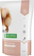 Nature's Protection Junior Mini 500 g - Granule pro psy Nature's Protection