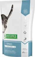 Nature's Protection Kitten 400 g - Granule pro kočky Nature's Protection