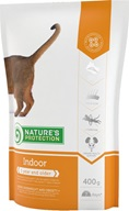 Nature's Protection Indoor 400 g - Granule pro kočky Nature's Protection