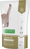 Nature´s Protection Cat Dry Neutered 400 g