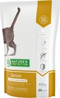 Nature´s Protection Cat Dry Senior 400 g