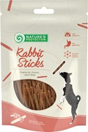 Nature´s Protection Dog Snack Rabbit Sticks 80 g