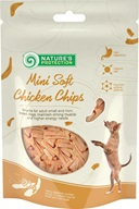Nature's Protection Snack Mini Soft Chicken Chips 80 g