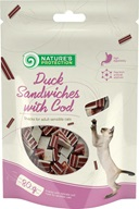 Nature's Protection Snack Duck Sandwich & Cod 80 g