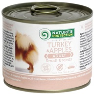 Nature's Protection konzerva Small Turkey & Apples 200 g