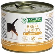 Nature's Protection konzerva Adult Beef & Turkey 200 g