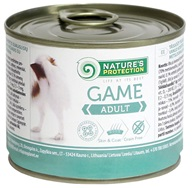 Nature's Protection konzerva Adult Game 200 g