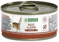Nature´s Protection Cat konzerva Beef&Lamb 100 g