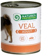 Nature's Protection Dog konz.Adult telecí 800 g