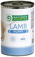 Nature´s Protection Dog konzerva Puppy Lamb 400 g