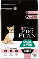 PRO PLAN Dog Adult Small&Mini Sensitive Skin 3 kg - Granule pro psy PRO PLAN