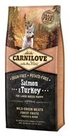 Carnilove Dog Puppy Salm.& Turk. Large Breed GF 12 kg - Granule pro psy