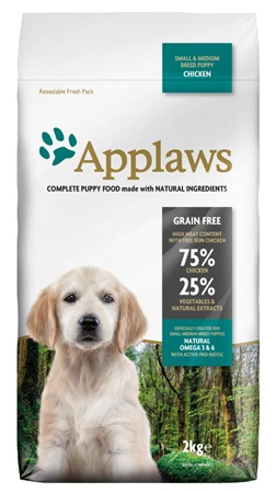 Applaws Puppy S&M Breed Chicken 2 kg - Granule pro psy