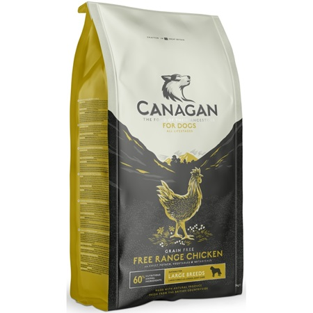 Canagan Dog Dry Large Breed Free-Run Chicken 12 kg - Granule pro psy