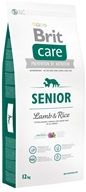 Brit Care Senior Lamb & Rice 12 kg - Granule pro seniory