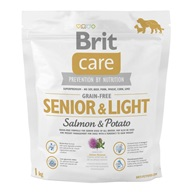 Brit Care Grain Free Dog Senior&Light S & P 1 kg