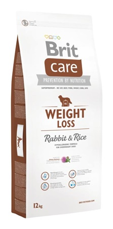 Brit Care Weight Loss Rabbit & Rice 12 kg - Granule pro psy