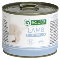 Nature´s Protection Dog konzerva Puppy Lamb 200 g