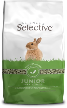 Supreme Science Selective Rabbit - králík Junior 10 kg - Krmivo