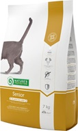 Nature´s Protection Cat Dry Senior 7 kg - Granule pro kočky Nature's Protection