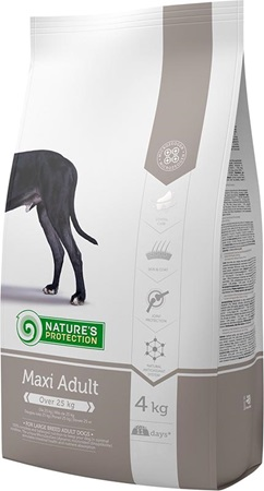 Nature's Protection Adult Maxi 4 kg - Granule pro psy