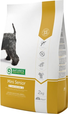 Nature's Protection Senior Mini 2 kg - Granule pro psy