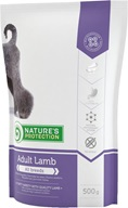 Nature's Protection Adult Lamb 500 g - Granule pro psy Nature's Protection