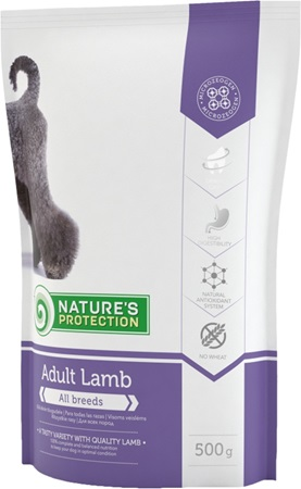 Nature's Protection Adult Lamb 500 g - Výprodej