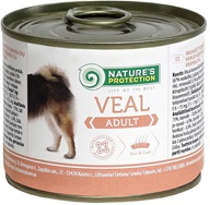 Nature's Protection konzerva Adult Veal 200 g