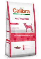 Calibra Grain Free Adult Small Breed Duck 7 kg - Granule pro psy