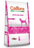 Calibra Dog GF Junior Small Breed Duck NOVÝ 2 kg - Granule pro psy