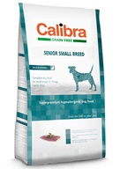 Calibra Dog GF Senior Small Breed Duck NOVÝ 2 kg - Granule pro psy