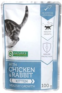 Nature's Protection kapsička Kitten Chicken&Rabbit 100 g