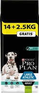 PRO PLAN Adult Large Athletic Sensitive Digestion Lamb 14+2,5 kg zdarma