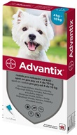 Advantix spot-on pro psy 4-10 kg 1x 1 ml