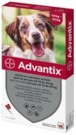 Advantix spot-on pro psy 10-25 kg 1x 2,5 ml