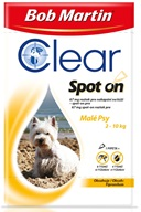 Bob Martin Clear spot-on pro psy S 2-10 kg 1x 0,67 ml - Pipety (Spot On)
