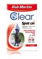 Bob Martin Clear spot-on pro psy XL 40-60 kg 1x 4,02 ml - Pipety (Spot On)