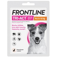 Frontline TRI-ACT spot-on S pro psy 5-10 kg 1x 1 ml - Pipety (Spot On)