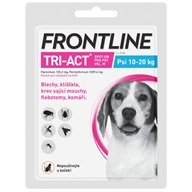 Frontline TRI-ACT spot-on M pro psy 10-20 kg 1x 2 ml - Pipety (Spot On)