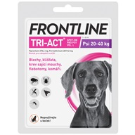 Frontline TRI-ACT spot-on L pro psy 20-40 kg 1x 4 ml - Pipety (Spot On)