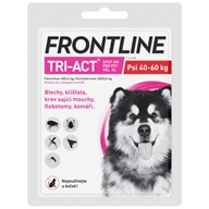 Frontline TRI-ACT spot-on XL pro psy 40-60 kg 1x 6 ml - Pipety (Spot On)